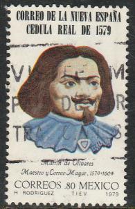 MEXICO 1192, 400th A Royal Proclamation mail serv USED. F-VF. (1348)