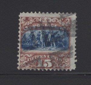 US Stamp Scott #119 Used EOF SCV $190