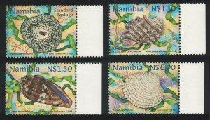 Namibia Shells 4v Right Margins 1998 MNH SG#795-798