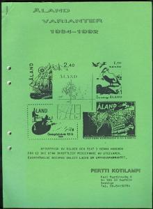 ALAND VARIANTER 1984-1992