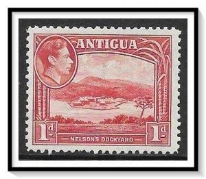 Antigua #85 KG VI & Nelson's Dockyard MH