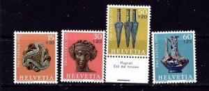 Switzerland B430-33 MH 1975 set