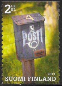 Finland 1370e Used - Mailboxes - Posthorn & Finnish Lion