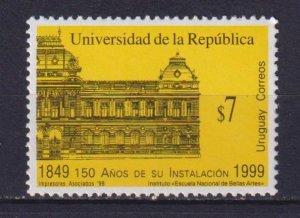 Uruguay 1999 The 150th Anniversary of the University of the Republic  (MNH)  - E