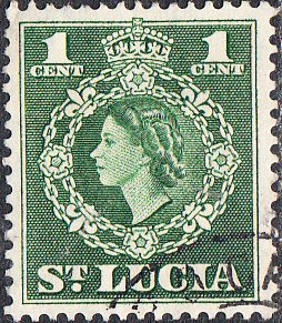 St. Lucia    #157    Used