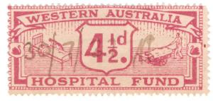 (I.B) Australia - Western Australia Revenue : Hospital Fund 4½d