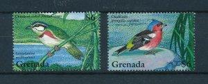 [103942] Grenada 1995 Birds vögel oiseaux From sheets MNH