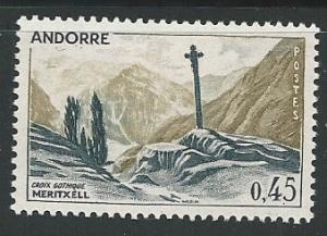 French Andorra =  Scott # 149 - MH