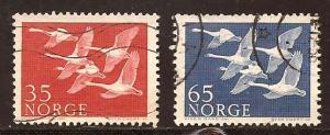 Norway  #  353 - 54  used