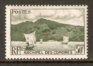 Comoro Isl.   #31  MH  (1950)  c.v. $0.65