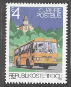 Austria Osterreich Scott 1218  MNH** Mail Bus stamp