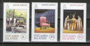 Pitcairn 160-162 MNH