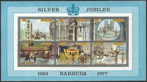 Barbuda #265 MNH Miniature Sheet of 6