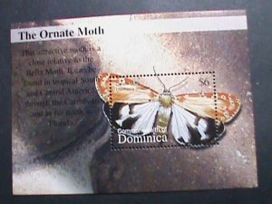 DOMINICA-1979-INSECTS- COLORFUL BEAUTIFUL LOVELY BUTTERFLY -MNH S/S SHEET VF