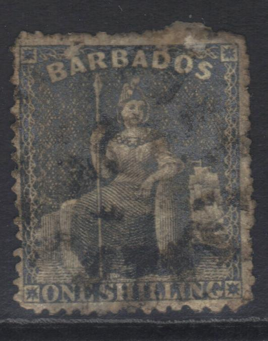 BARBADOS 1861-1870 SG35 USED CAT £11