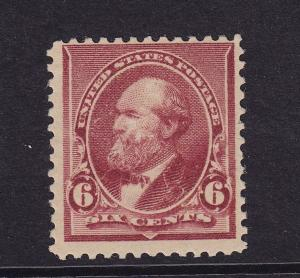 224 F-VF OG mint previously hinged with nice color cv $ 65 ! see pic !
