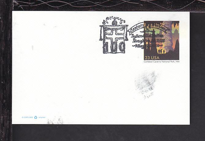 Norway Century of Freedom Cancel Cover BIN