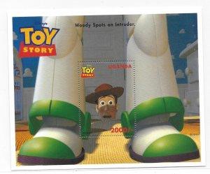 Uganda MNH S/S 1482 Disney's Woody Spots An Intruder 1997