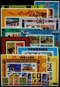 Tanzania 54/178 MNH lot SCV137.40