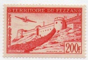 Libya - Fezzan 2NC4 Mint Hinged