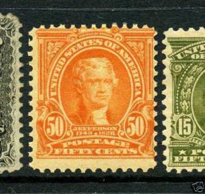 Scott #310 Jefferson Perf 12 Mint Stamp (Stock #310-13)