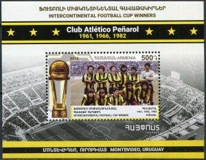 Armenia 2019. Intercontinental Football Cup Winners - Penarol (MNH OG) S/S