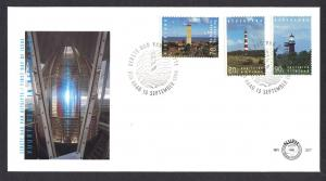 Netherlands 1994  FDC 327 lighthouses