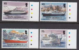 South Georgia 303-6 Merchant Ships mnh
