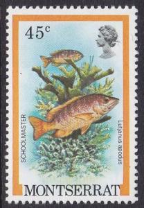 Monserrat 1981 SG496 UHM
