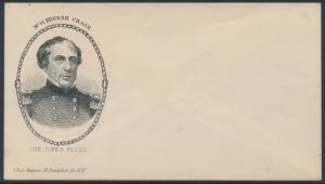 #PNM-140 GEN. JOHN B. FLOYD UNION CIVIL WAR MAGNUS PATRIOTIC COVER BS7181
