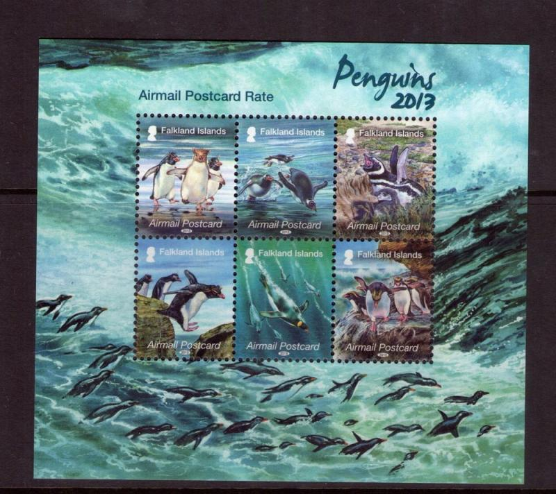 FALKLAND ISLANDS Penguins S/S superb MNH