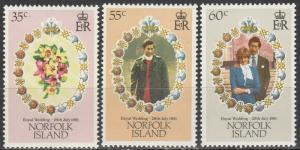 Norfolk Island #280-2  MNH  MNH (K241)