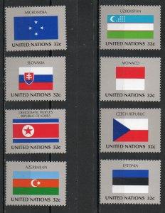 United Nations - New York 719-726 MNH