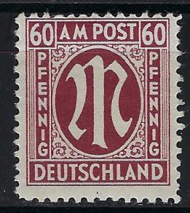 Germany AM Post Scott # 3N18, mint nh