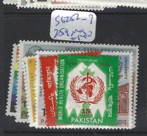 PAKISTAN  (P2412B)  SG   252-7, 259  MOG