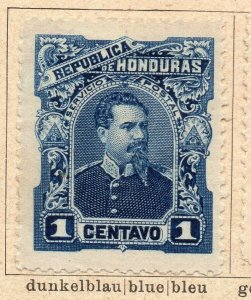 Honduras 1891 Early Issue Fine Mint Hinged 1c. NW-11890