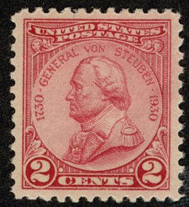 US #689 SCV $100.00 SUPERB JUMBO mint never hinged, rich color, very fresh,  ...