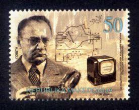 Macedonia Sc# 621 MNH Vladimir Zworykin