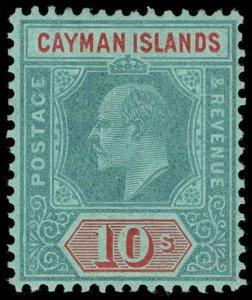 Cayman Islands Scott 21-30 Gibbons 25-34 Mint Set of Stamps