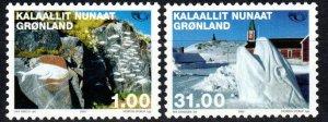 Greenland #394-5  MNH CV $12.40 (X1102)