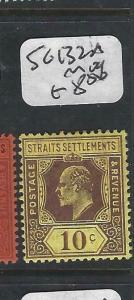 MALAYA  STRAITS SETTLEMENTS  (PP0906B)  KE  10C  SG 132A   MOG