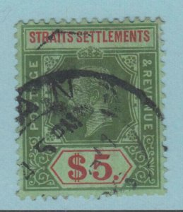 STRAITS SETTLEMENTS 167 USED  NO FAULTS VERY FINE!