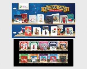 Stamps of Isle of Man 2019. - Christmas Cards 2019 - Christmas Spirit - Presenta