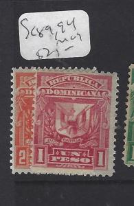 DOMINICAN REPUBLIC (PP0910B)  SC  89, 94      MOG