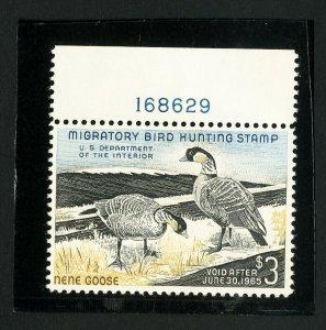 US Stamps # RW31 Superb OG NH PL# Single