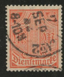 Germany Scott o10 official used stamp