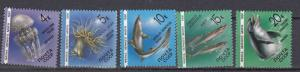 Russia - 1991 Marine Life Fauna  Sc# 5954/5958 - MNH (838N)