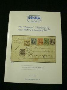 PHILLIPS AUCTION CATALOGUE 1987 HAITI 'HISPANIOLA' COLLECTION