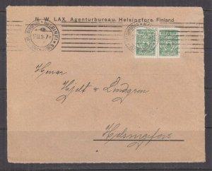 FINLAND, 1914 front, Russia 2k.(2). HELSINKI, local.