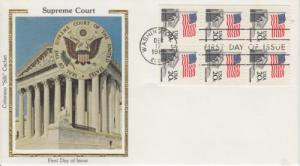 1981 Flag over Supreme Court BP (Scott 1896a) Colorano FDC